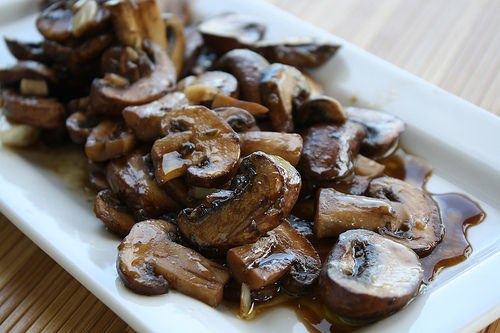 Grate Sauteed Mushrooms