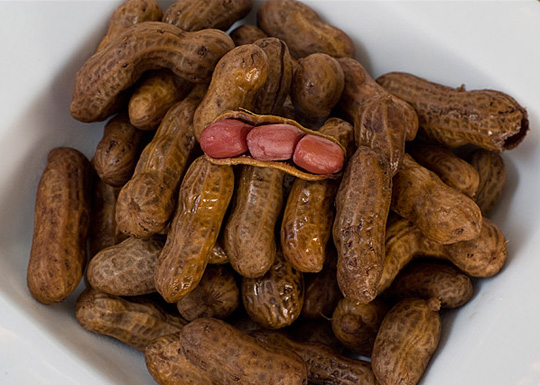 Which is more nutritious, BOILED or ROASTED groundnuts?
